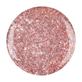 glimmer gel<br>rosé crystal