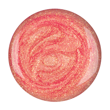 UV/LED nail polish <br>peachy