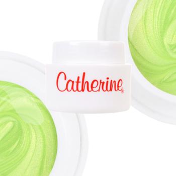 UV nail polish <br>greeny