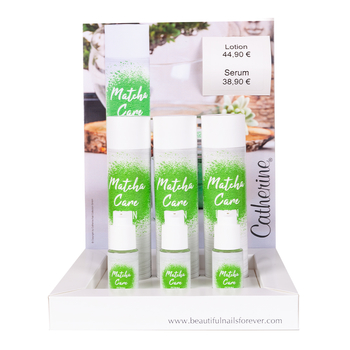 Verkaufsdisplay <br>Matcha Care