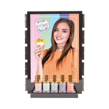 Verkaufsdisplay <br>Nailfashion Candyland