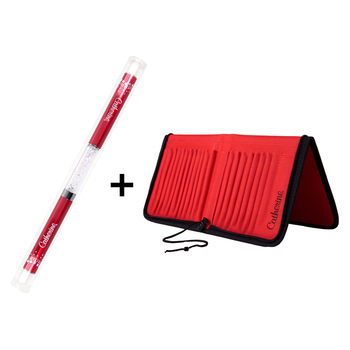 Double Brush<br>Artist Red + Case Red