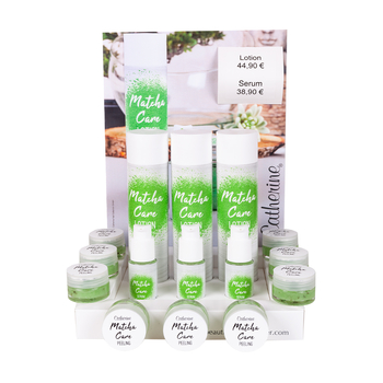 Aktion Verkaufsdisplay <br>Matcha Care