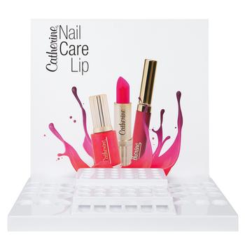 Verkaufsdisplay<br>Nail Care Lip unbestückt