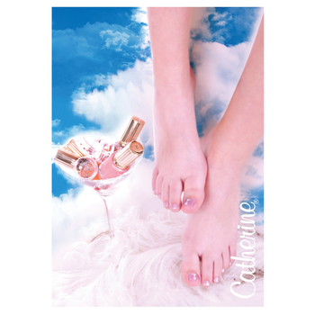 Werbeposter<br>summer feet