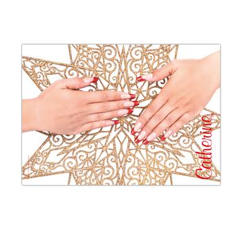 Werbeposter<br>christmas nails