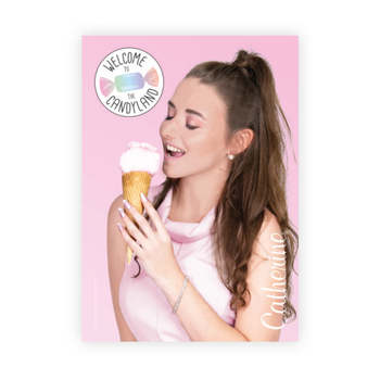 Werbeposter <br>cotton candy