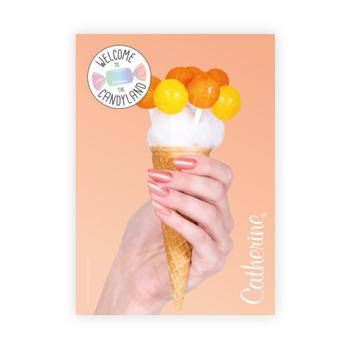 Werbeposter <br>peach pop