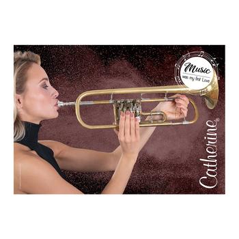 Werbeposter <br>trumpet