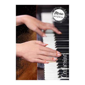 Werbeposter <br>piano