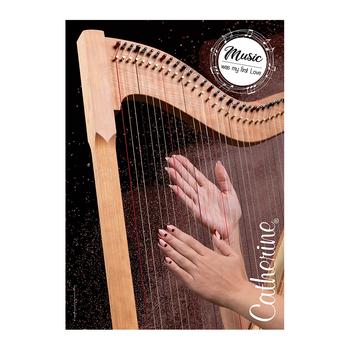 Werbeposter <br>harp