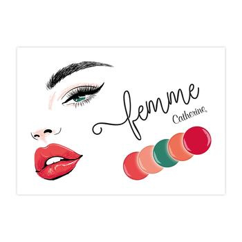 Werbeposter Femme
