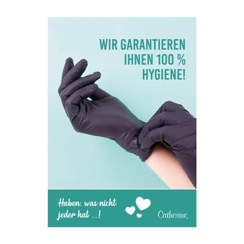Werbeposter <br>Hygiene
