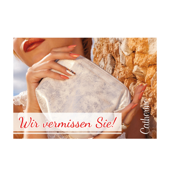 Welcome Back Card<br>personaliert