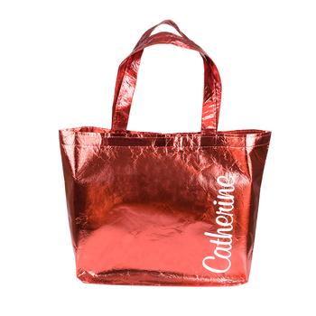 Bag metallic-red